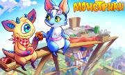 'Монстрики' - Веселая и милая игра о монстриках, появившихся на фантастической планете, заваленной земным мусором.
